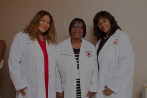 Three Women Medical Professionals