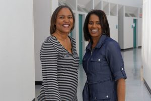 Two Community Care Professionals