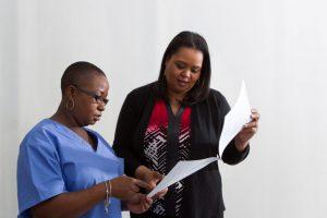 Nurses Inspecting Charts